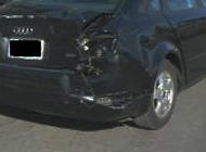 リアバンパー損傷