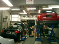 マーキーズ工場内