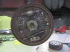 ポロ ブレーキ異音修理