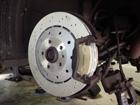 アウディ RS6 ブレーキ残量警告灯点灯修理