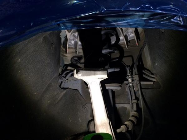 アウディ S4 車検アームブッシュ 足回り修理
